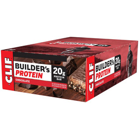 CLIF Bar Builder's Caja Barritas Proteína 12x68g, Chocolate